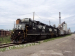 L55 switching Cargill on the orginal N&W main through Circleville